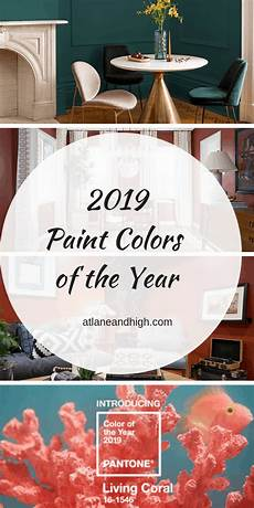2019 paint colors of the year