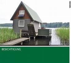 ferienhaus am see brandenburg kaufen quot gr 252 nes quot 214 ko ferienhaus mit zugbr 252 cke bootshaus und