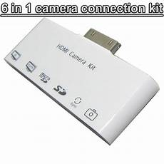 6 in 1 hdmi dock adapter tv av usb cable connection