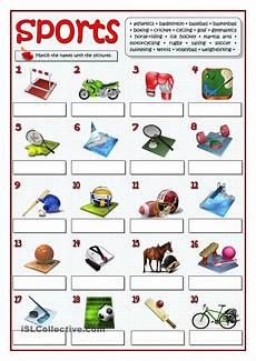 sports worksheets esl 15725 twenty sports esl worksheets of the day engelska och utbildning