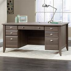 sauder home office furniture sauder shoal creek 418656 executive office desk becker
