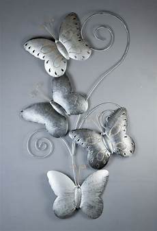 D 233 Co Design D 233 Coration Murale En M 233 Tal 4 Papillons