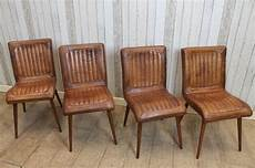 These Vintage Style Leather Chairs Are A Magnificent