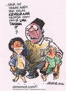 Gambar Kartun Lucu Karikatur Top Lucu