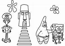 Ausmalbilder Kostenlos Zum Ausdrucken Spongebob Spongebob 5 Ausmalbilder Und Basteln Mit Kindern
