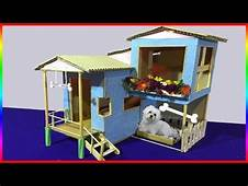 How To Make Amazing Pet House From Cardboard Puppy Dog
