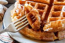 Yeasted Belgian Waffles Recipe Simplyrecipes