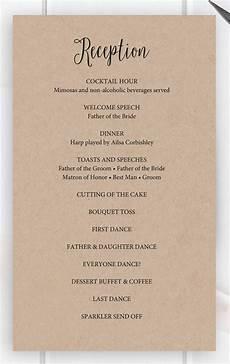 8 wedding party program templates psd vector eps ai