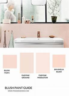 4 ways to get the pink modern bathroom