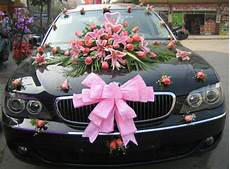 wedding car decoration fashion in new