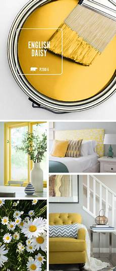 color of the month english daisy yellow rooms home