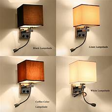 modern wall sconce with switch wall bed ls 1 or 2 pcs 1w led reading light hose rocker arm