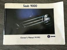 service and repair manuals 1993 saab 9000 seat position control 1993 saab 9000 owner s manual book owners guide 9000 original ebay