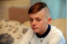 boy banned from playtime for cutting his hair short so his cadets beret would fit real fix