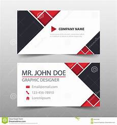portrait business card template pages triangle corporate business card name card template