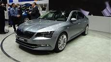 2016 skoda superb limousine exterior and interior
