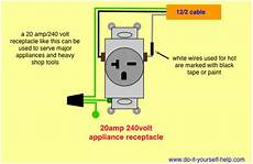 wiring diagrams for electrical receptacle outlets do it yourself help com
