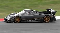 2 X Pagani Zonda R Evolution Sound In On Track
