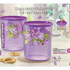 Poppy Canister Tupperware tupperware royal canister 5 5l 1 shopee malaysia