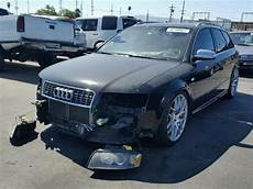 damaged salvaged accidental audi s4 car for sale