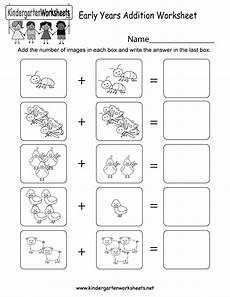 this is an image addition worksheet for preschoolers or kindergarteners you can print