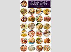Top 25 All Time Best Family Dinner Recipes   Tops, Dinner