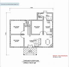 single floor kerala house plans kerala style single floor house plan 1155 sq ft home