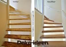 offene holztreppe neu gestalten treppe renovieren