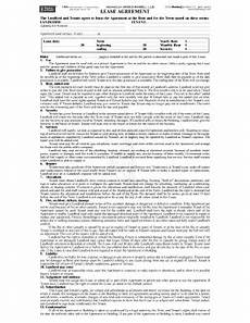 blumberg lease agreement form fill online printable
