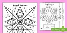 shapes pattern worksheets for grade 1 1234 rangoli patterns colouring pages made
