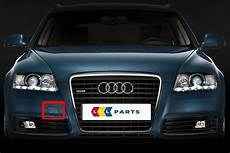 audi a6 4f 08 11 facelift new genuine front bumper tow