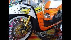 Scoopy 2016 Modif by Jdm Style Honda Scoopy Esp 2016 Modifikasi Racer