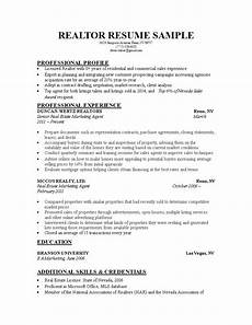 real estate marketing executive resume templates at