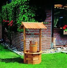 puits d 233 coratif bois syma mobilier jardin puits en bois