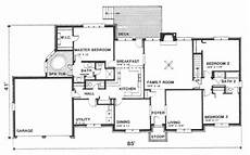2300 square foot house plans southern style house plan 3 beds 2 5 baths 2300 sq ft