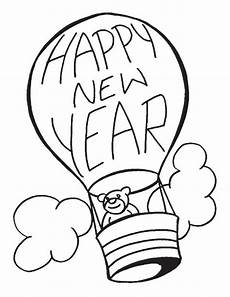 happy new year coloring pages 2019 free printable happy