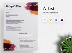 freelance artist cv resume template by getresume co