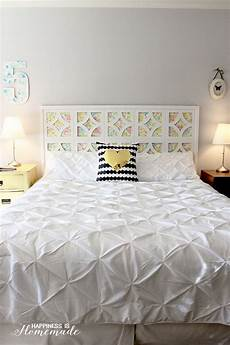 kopfteil bett bauen decorate your bedroom with these 25 diy headboards noted