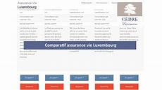 comparatif assurance vie comparatif assurance vie luxembourg