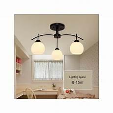 luminaire 3 les lustre 224 3 les verre ronde suspension luminaire chambre style am 233 ricain cagne industriel
