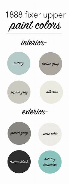 an update our 1888 fixer upper paint colors i heart nap time