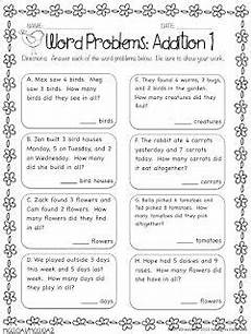printable word problem worksheets for 1st grade 11207 back with printables math words word problems