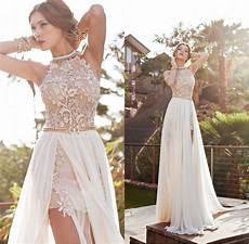 2017 long popular high low wedding dresses lace wedding gown romantic dress simple sexy cute