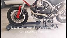 pedana moto pedana carrello sposta accosta parcheggia moto