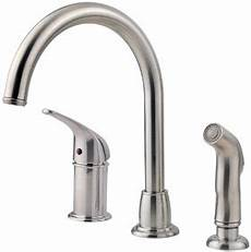 pfister kitchen faucet reviews review on the pfister fwk1680s kitchen faucet with side spray