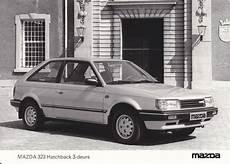 auto repair manual online 1985 mazda familia instrument cluster mazda 323 hatchback 3 door nl august 1985 car press photos mazda car en vehicles