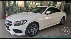 mercedes c200 amg line coupe 2018 white