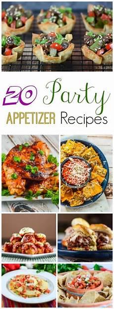 20 party appetizer recipes flavor mosaic