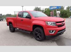 2017 CHEVROLET COLORADO EXTENDED CAB LONG BOX 4 WHEEL