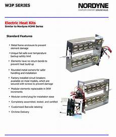 15 Kw Breakered Heat For Nordyne Package Units P3r